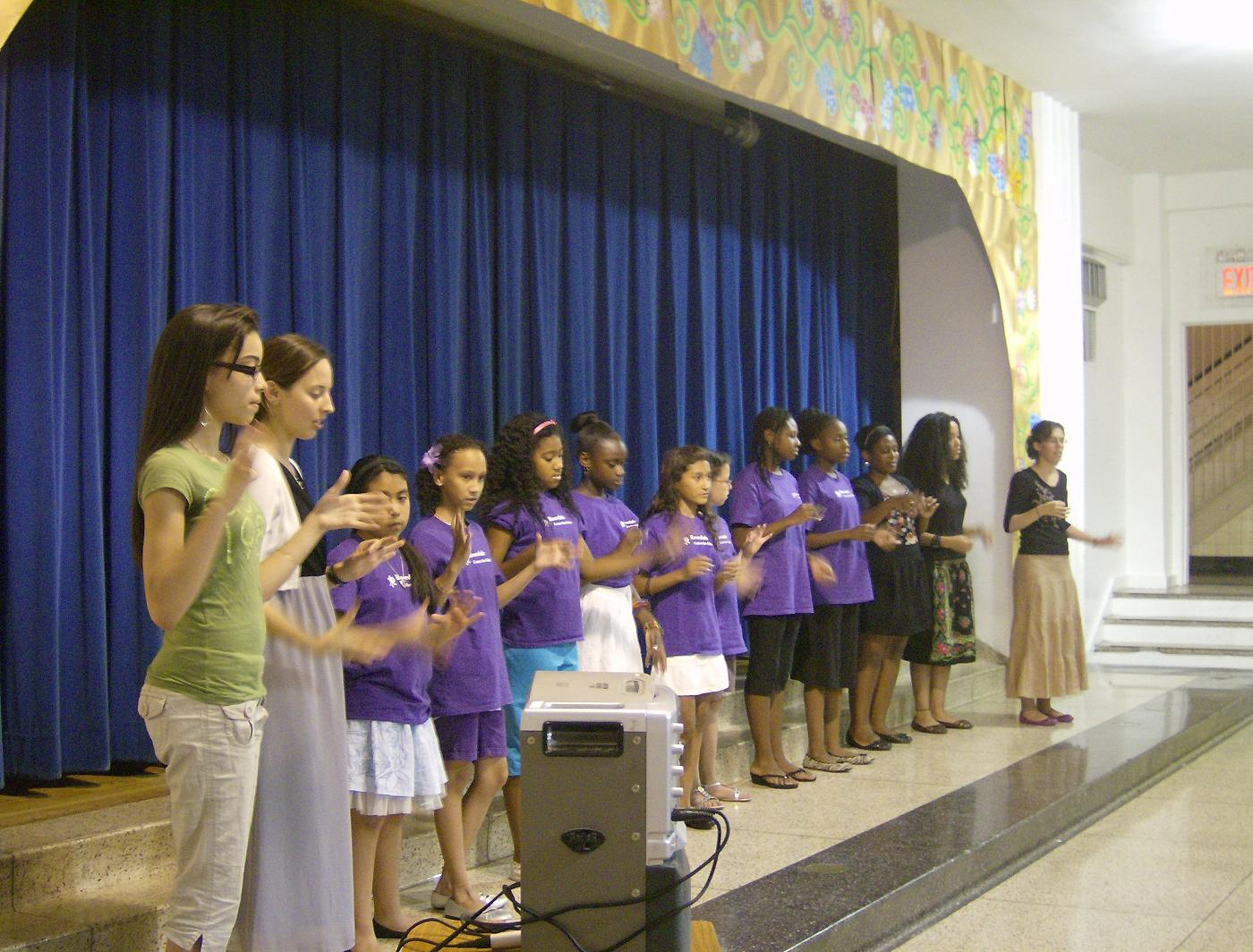 Young Bronx Girls Thrive