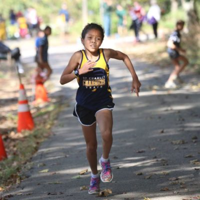 Sahar Victoria Vitale Steals Thunder In CYO Cross Country Championship Meet