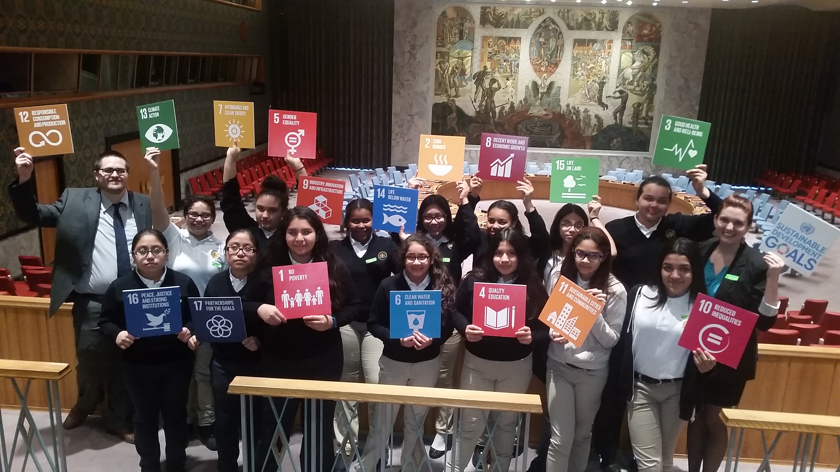 South Bronx Middle School Become First NYC Junior Ambassadors To The UN
