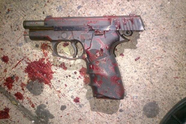 Shaaliver Douse's gun.