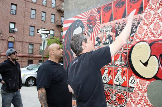 Shepard Fairey & Cope2 In Bronx