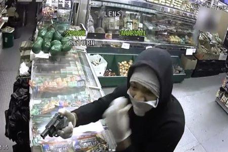 Seeking Thieves Who Pistol-Whipped Bronx Deli Clerk