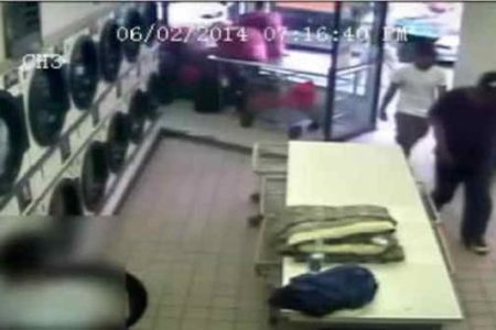 Searching For Suspects In Armed Robbery At Bronx Laundromat