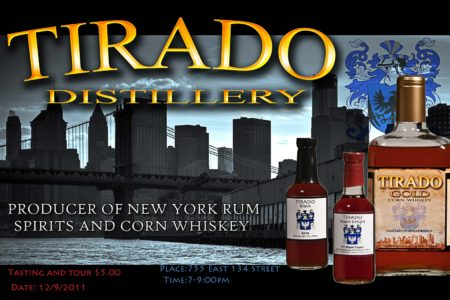 Tirado Rum Tasting & Tour Event