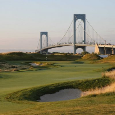 Donald Trump's Brand New Championship Golf Course In Bronx