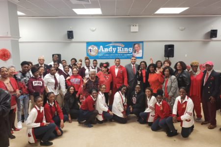 Seniors, Teens Get Festive At Valentine's Day Dance Hosted By Bronx Elected Officials