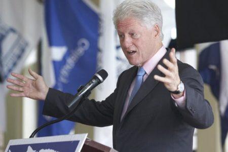 Bill Clinton At SUNY Maritime