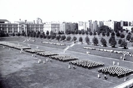 WAVES Boot Camp In Bronx, 1943