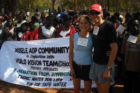 Ryan Hall Volunteers In South Bronx