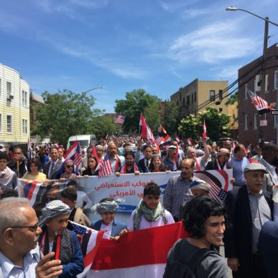 Marching In The Inaugural Yemeni American Day Parade