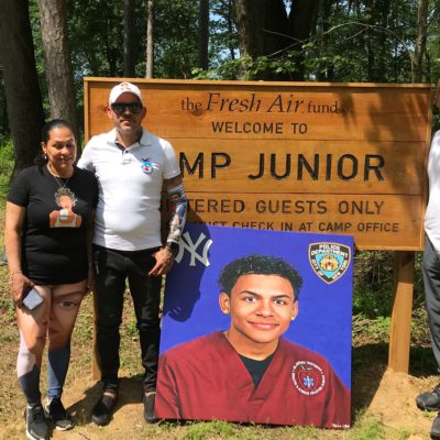 "Opening Day Of ""Camp Junior"""