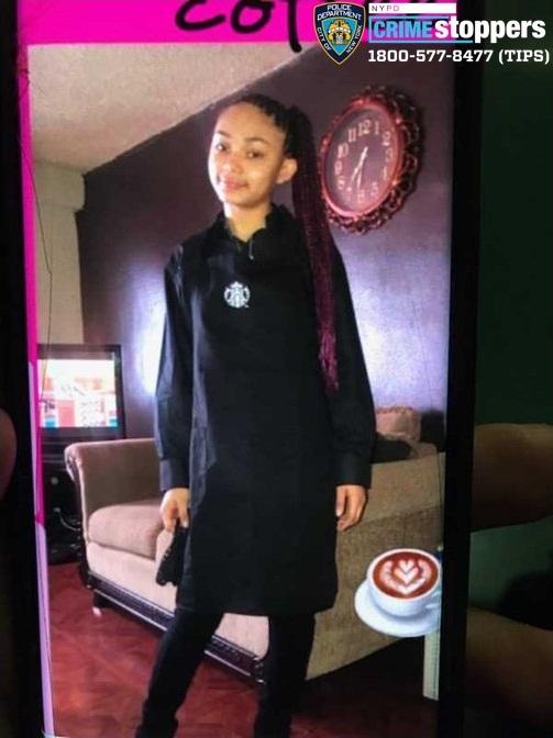 Zarijah Morales, 16, Missing