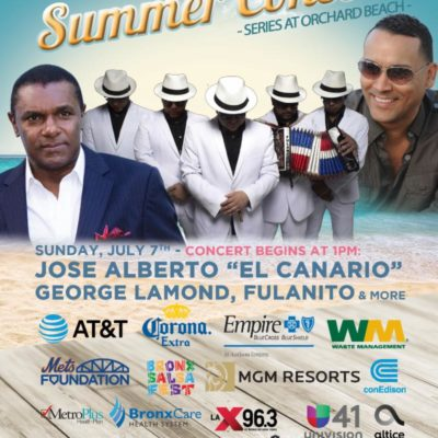 Bronx Summer Concert Series At Orchard Beach 2019