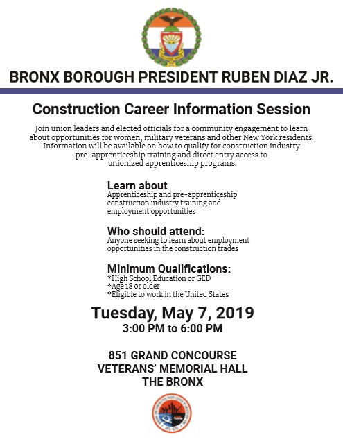 Construction Career Information Session