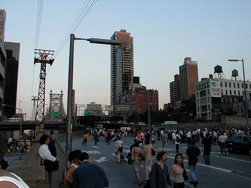 New York CIty, 59th Street Bridge, August 14, 2003.