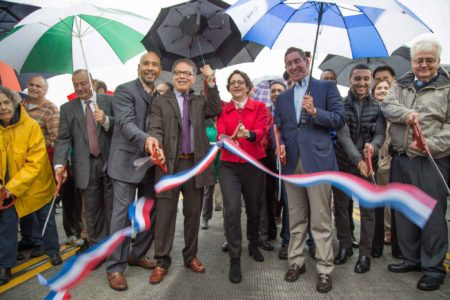 Borough President Diaz Celebrates Opening Of New City Island Bridge In Bronx