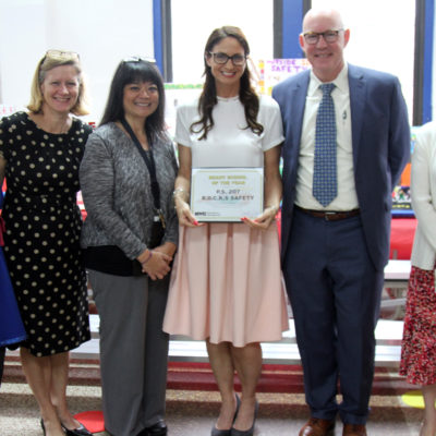 P.S. 207 Receives NYC Emergency Management's Ready School Of The Year Award
