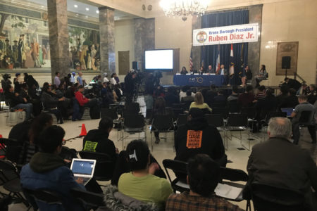 Borough President Diaz Hosts Gun Violence Town Hall
