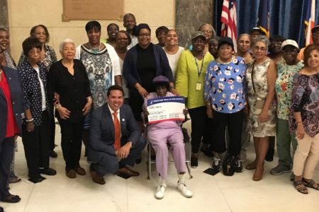 "Deputy Borough President Scott-Mcfadden Joins Seniors For ""Medicare Card Kick Off"" Event"