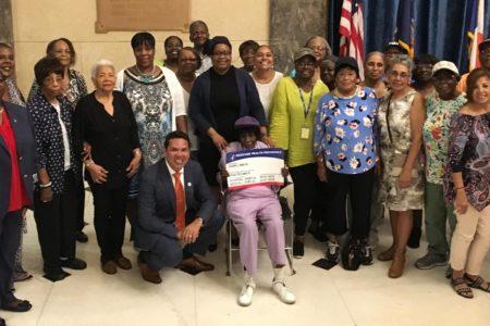 Deputy Borough President Scott-Mcfadden Joins Seniors For 'Medicare Card Kick Off' Event