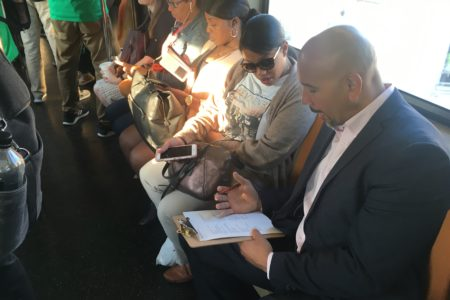 """Disability Advocates, Transportation Organizations, Elected Officials Kick-Off """"24 Hour Riders Respond Transit Tour"""""""