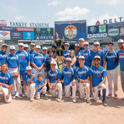 "Eighth Annual ""Borough President's Cup"" Youth Baseball Championship"