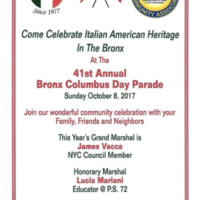 Celebrate Italian Heritage With Us