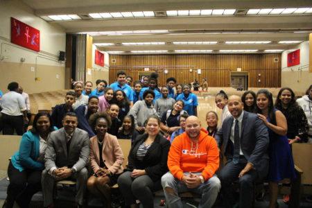 BP Diaz & Fat Joe Launch Public School Sneaker Initiative