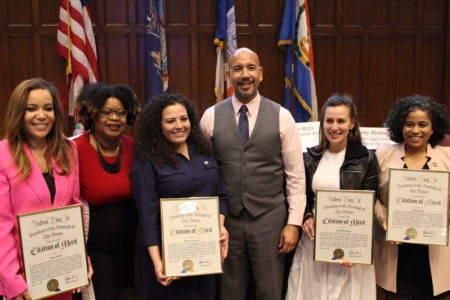 At The Annual Women's History Month Celebration In Bronx