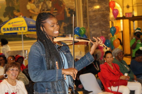 BP Diaz Hosts Bronx Week 2019 Senior Event