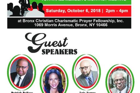 Bronx NAN Chapter Town Hall Meeting