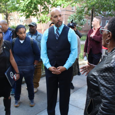 BP Diaz & HUD Administrator Patton Visit NYCHA's Patterson Houses