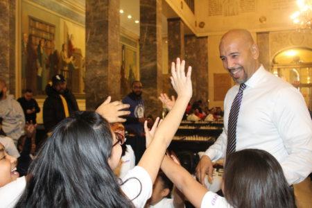 Bronx Borough President Ruben Diaz Jr. & AT&T Host Annual Chess Challenge