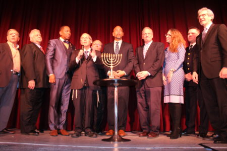 BP Diaz Hosts Annual Chanukah Celebration & Menorah Lighting