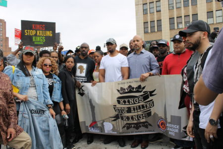 Anti-Violence March On Grand Concourse