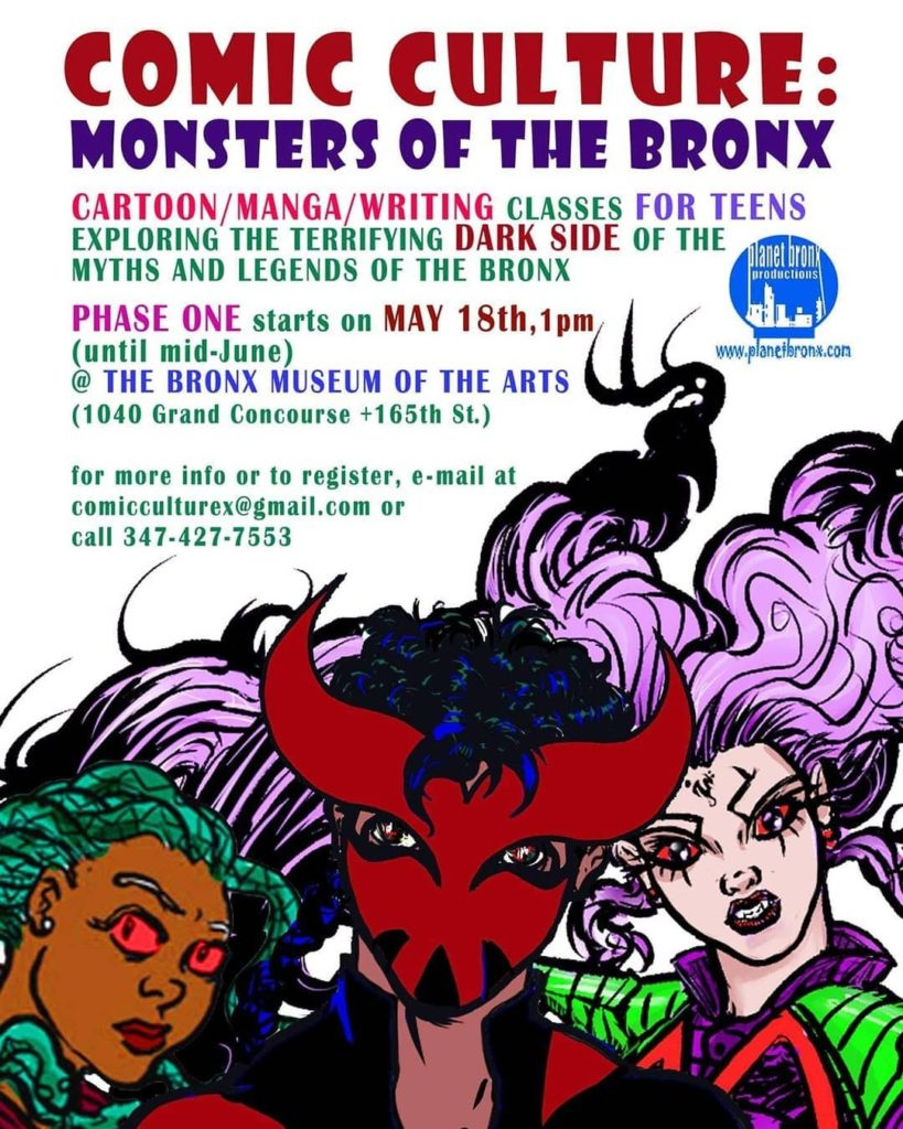 Comic Culture: Monsters Of The Bronx