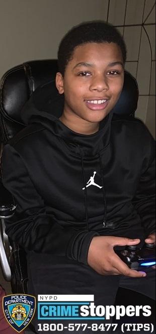 Raymond Brown, 13, Missing
