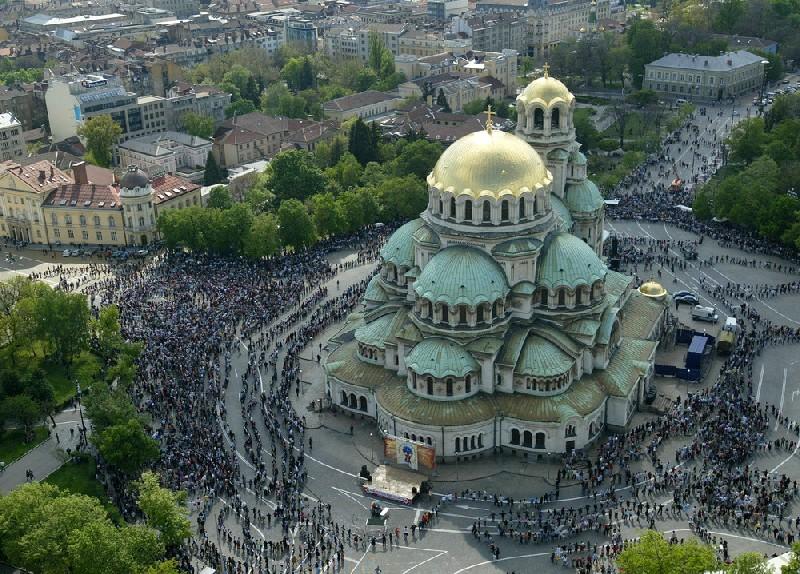 St. Alexander Nevski cathedral.