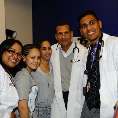 Alex Rodriguez Dedicates A New Pediatric Outpatient Center