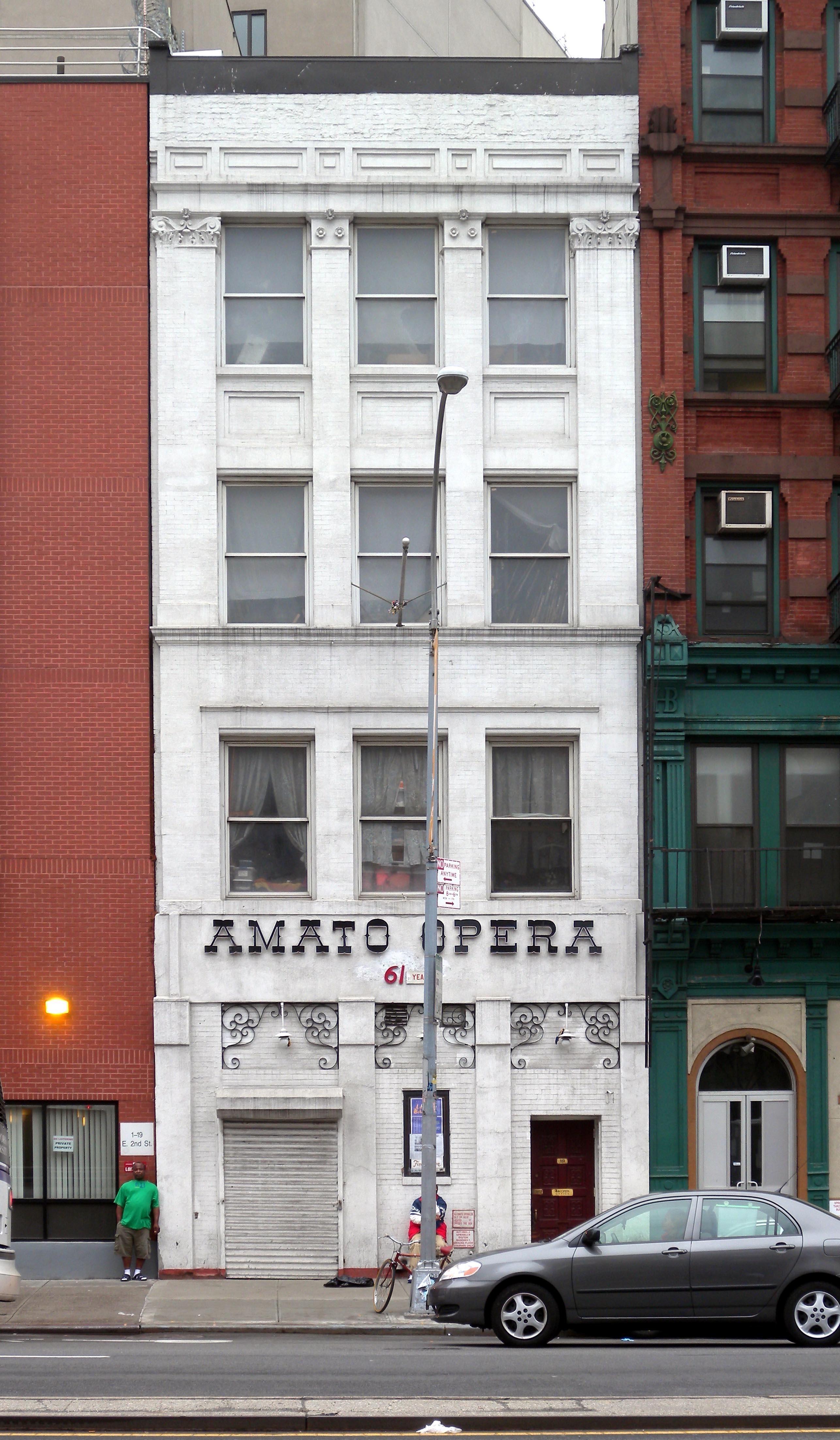 Amato Opera, 319 Bowery Street