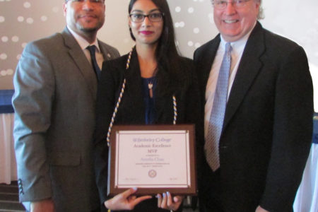 Berkeley College Honors Student From Bronx Receives Award For Academic Performance