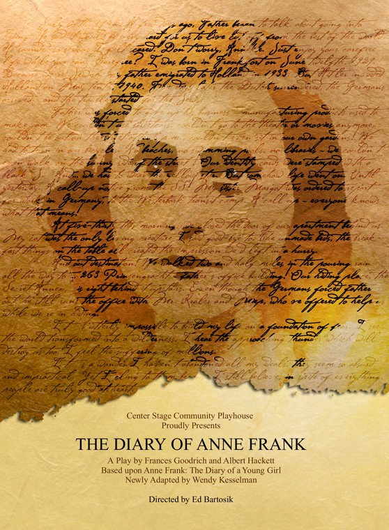 """""""The Diary Of Anne Frank"""" By Goodrich & Hackett"""