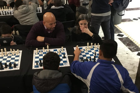 BP Diaz Hosts Annual Chess Challenge