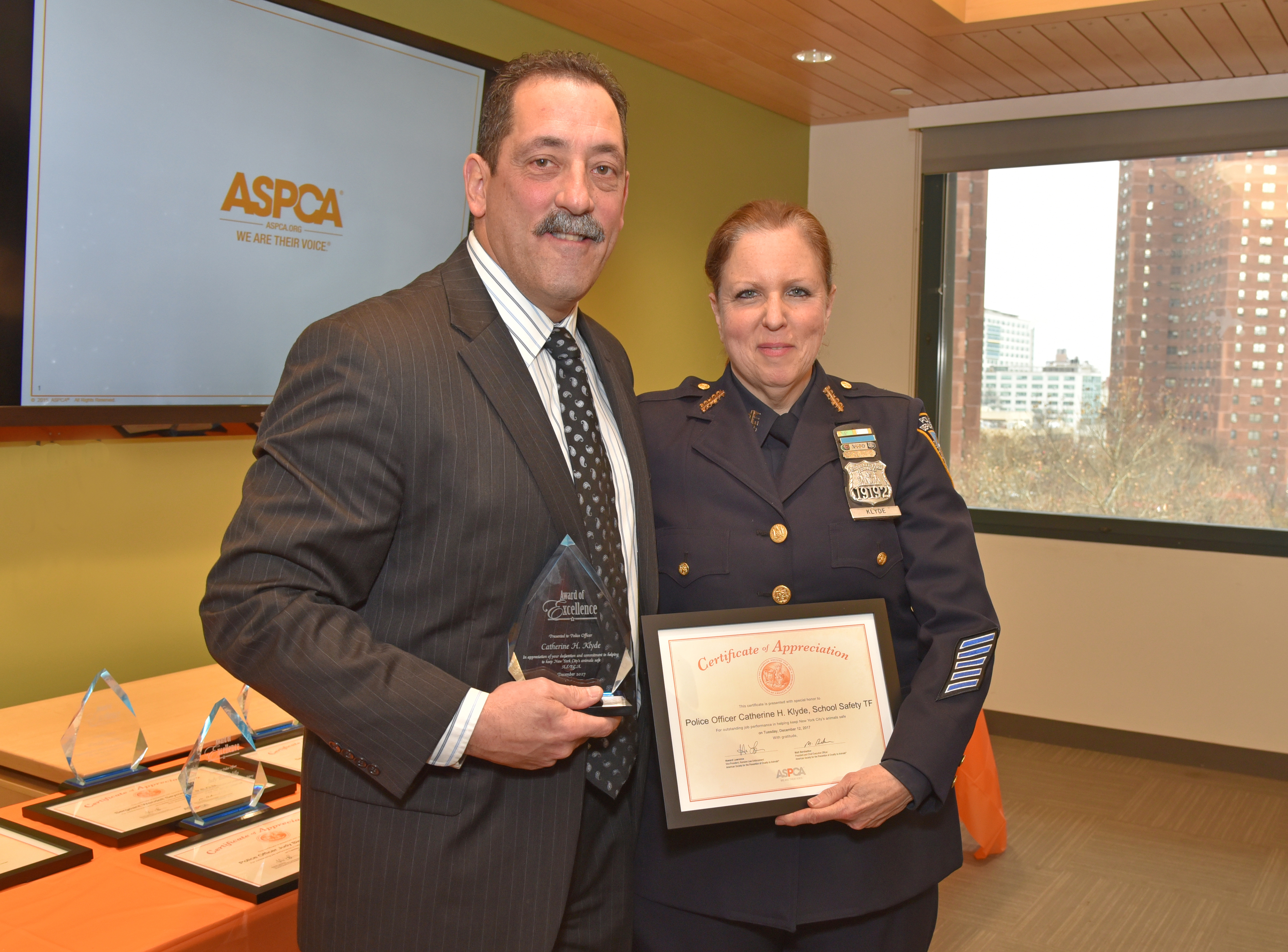 Police Officer Catherine H. Klyde, School Safety Division