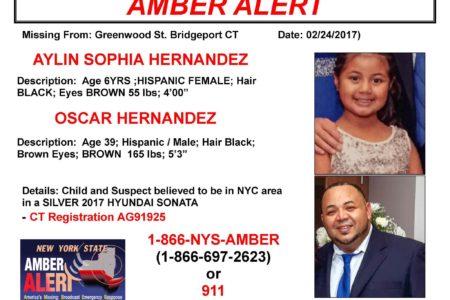 Amber Alert: Aylin Sofia Hernandez
