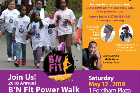2018 Annual B'N Fit Power Walk To Wellness
