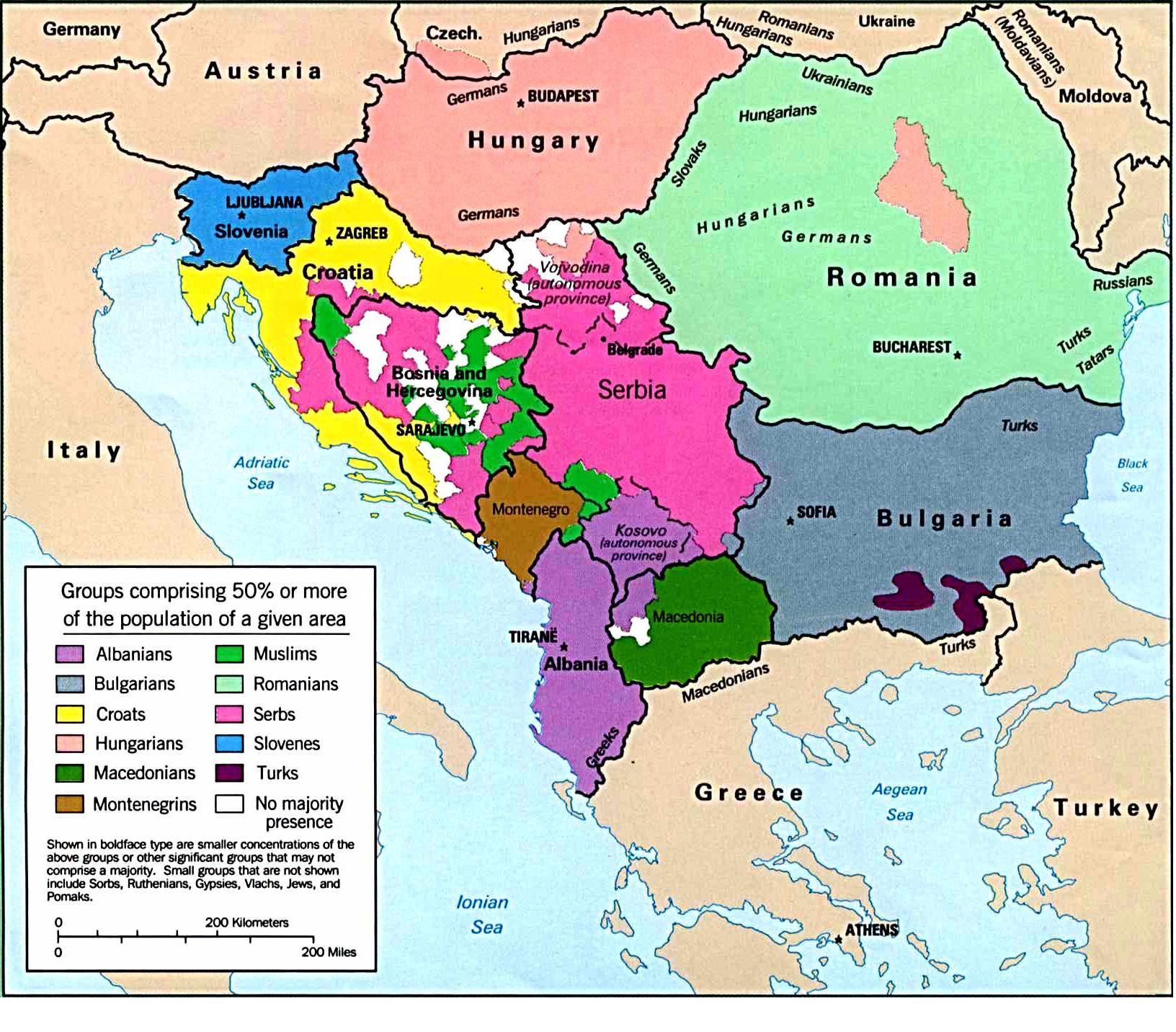 The Balkans, South Easter Europe