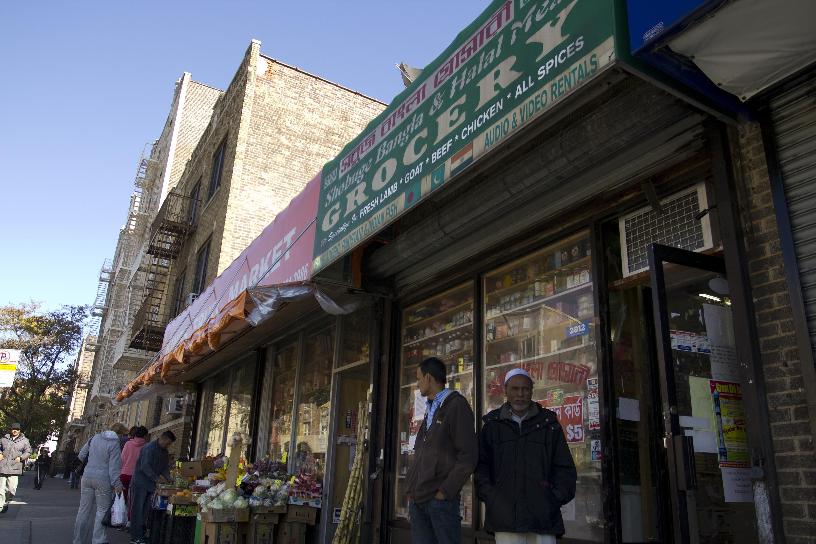 A Bangladeshi-owned bodega in Norwood.