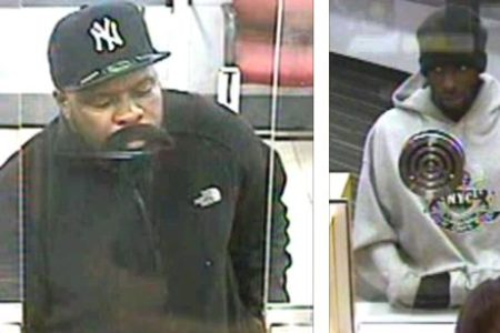 Searching For Bank Robbery Suspects