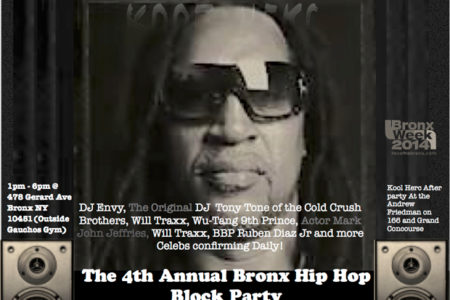 4th Annual Bronx Hip Hop Block Party